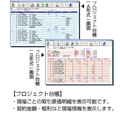 プロジェクト台帳