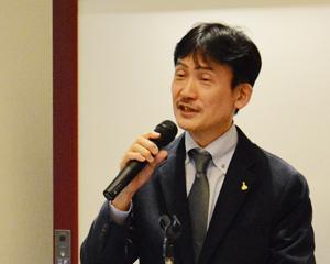汲田貴司氏